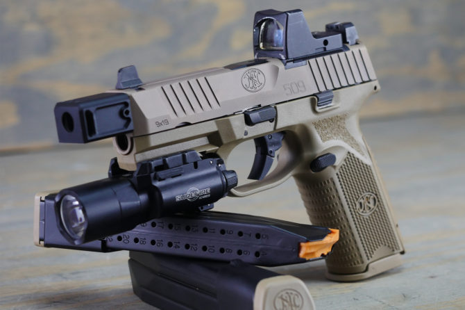First Look: FN 509 Tactical Red Dot Ready Pistol